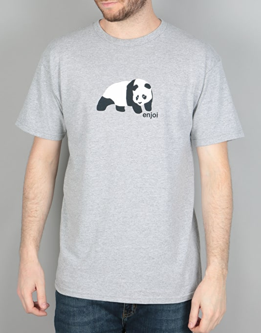 Enjoi Original Panda T-Shirt - Athletic Heather