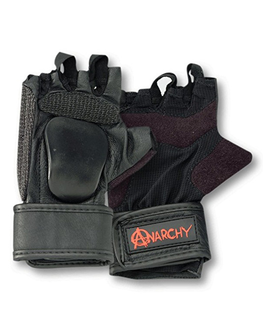 Anarchy Hand Slider Gloves - Black