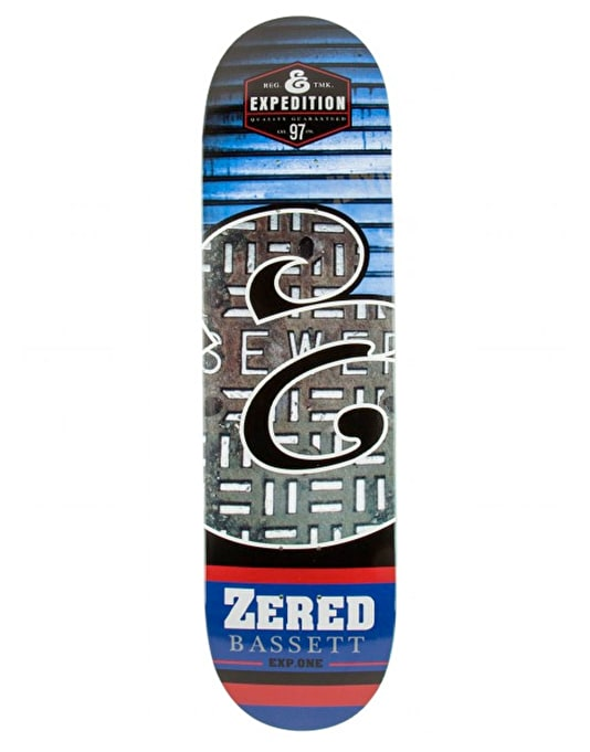"""Expedition One Zered E Fills Skateboard Deck - 8.38"""""""