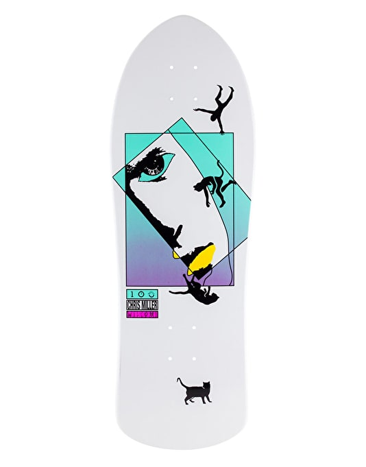 Welcome Miller Faces on Crossbone Pro Deck - 10""