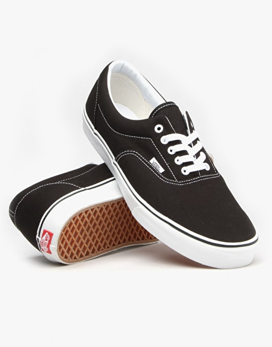 Vans Era Skate Shoes - Black/White