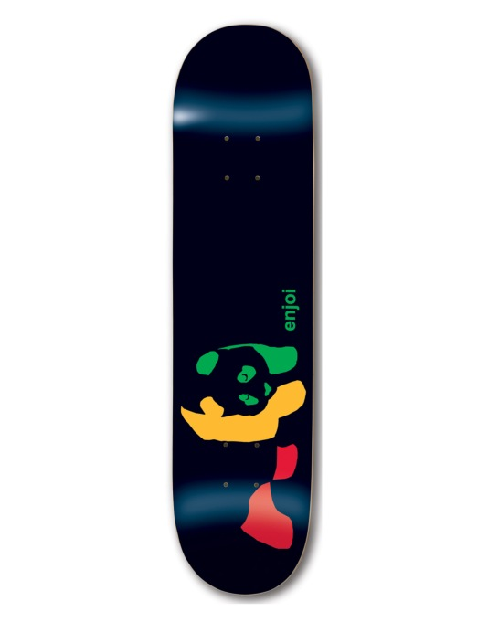 Enjoi Rasta Panda Team Deck - 7.75""