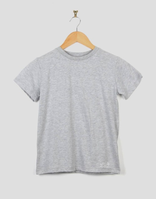 Route One Basic Boys T-Shirt - Grey Marl