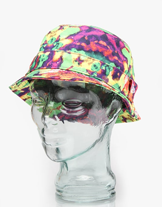 New Era Smudged Bucket Hat - Purple/Multi