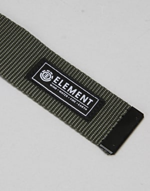 Element Beyond Web Belt - Moss Green