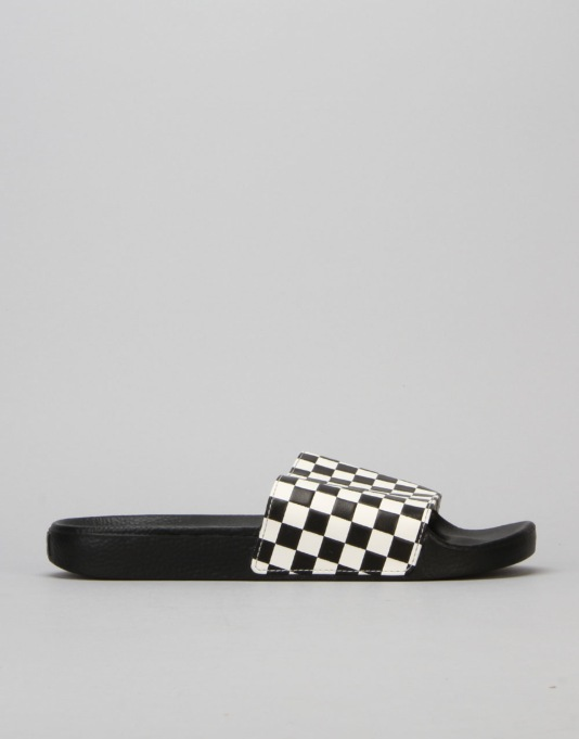 Vans Slide-On Sandals - Checkerboard