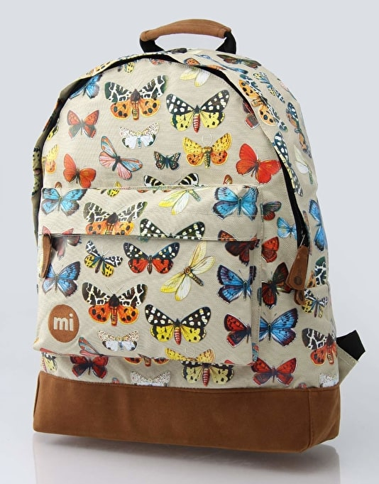 Mi-Pac Specimen Backpack - Natural/Butterfly