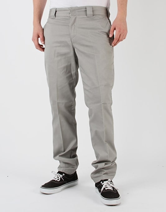 Dickies C182 Tapered Slim Pants - Silver