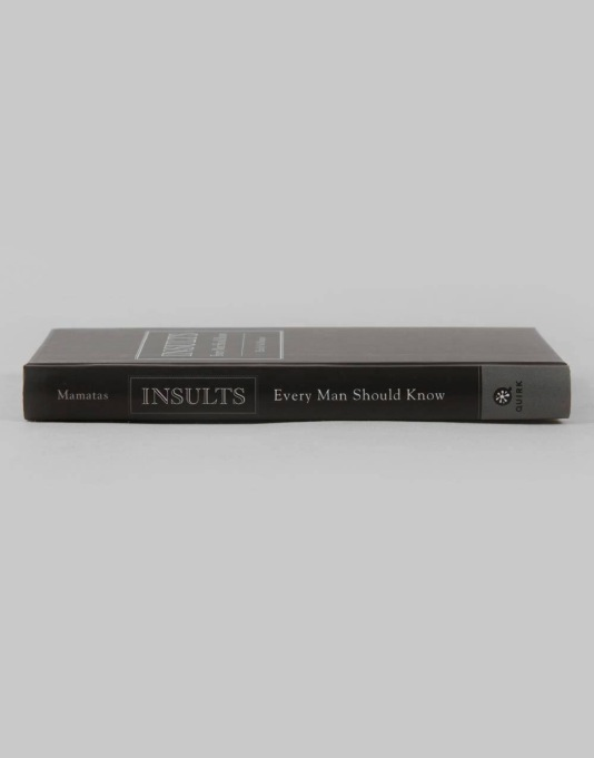 Insults Every Man Should Know Book