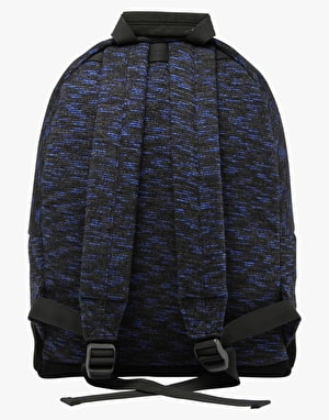 Mi-Pac Space Dye Backpack - Black/Blue