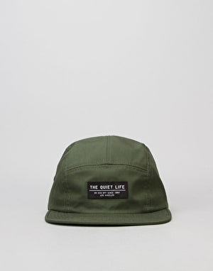 The Quiet Life Foundation 5 Panel Cap - Olive