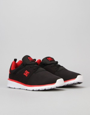 DC Heathrow Skate Shoes - Black/Red
