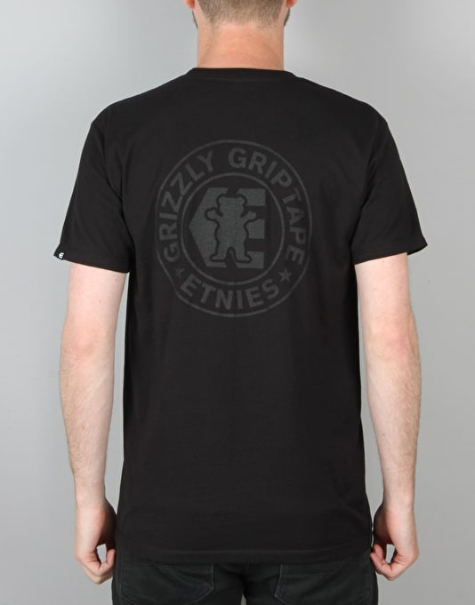 Etnies x Grizzly Corp T-Shirt - Black