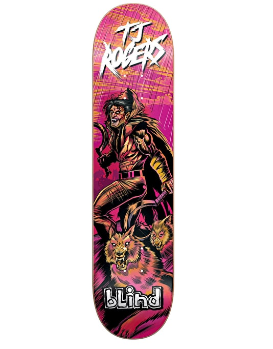 Blind TJ Warrior Series Pro Deck - 8""