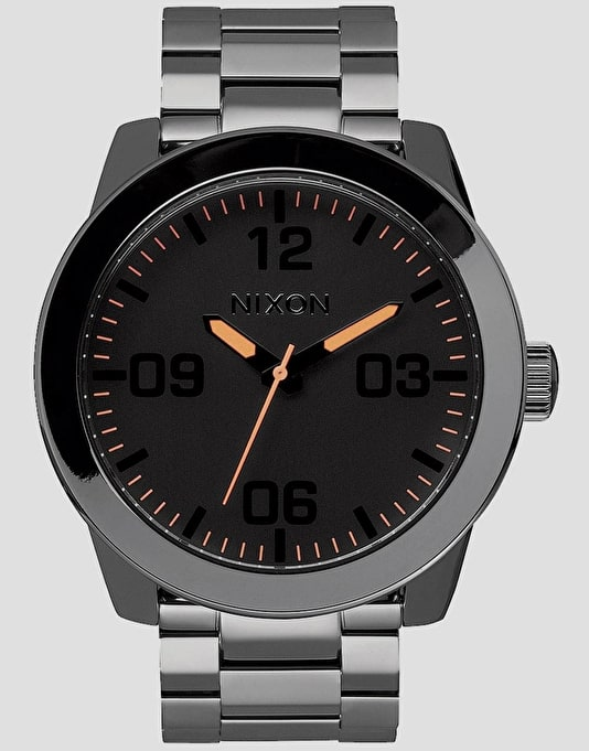 Nixon Corporal SS Watch - Steel Grey