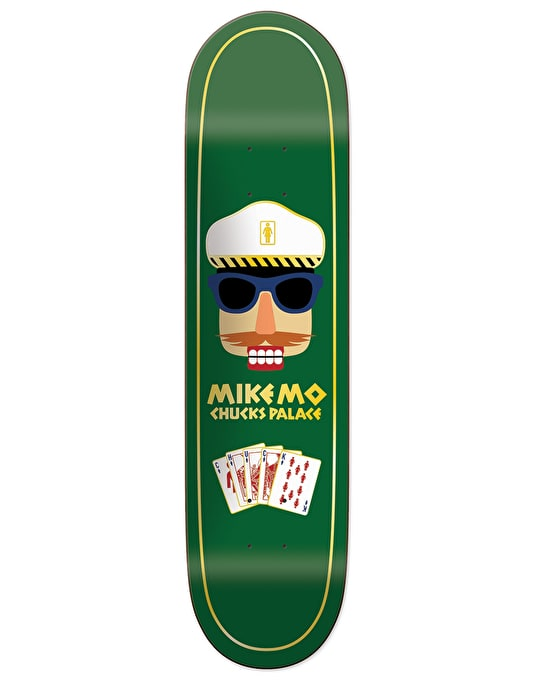 Girl Mike Mo Chuck's Palace Pro Deck - 7.75""