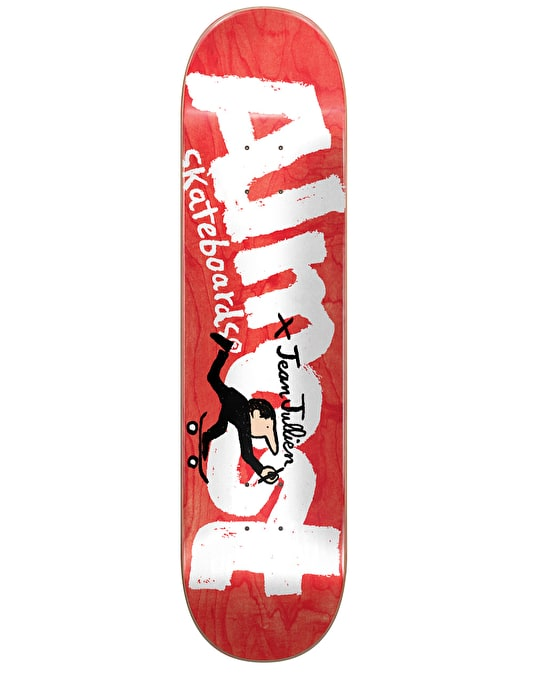 Almost x Jean Jullien Logo Team Deck - 8.125""