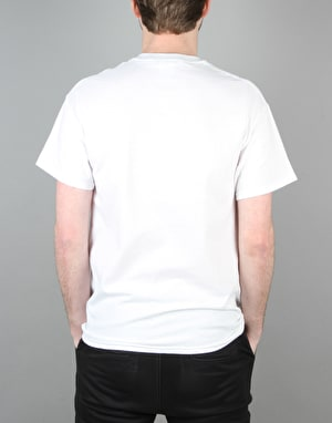 Thrasher Skate and Destroy T-Shirt - White