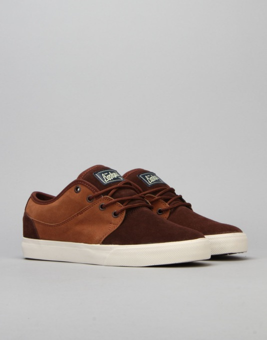 Globe Mahalo Skate Shoes - Ginger/Brown