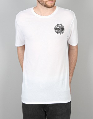 Nike SB S+ Cracked Asphalt T-Shirt - White/White