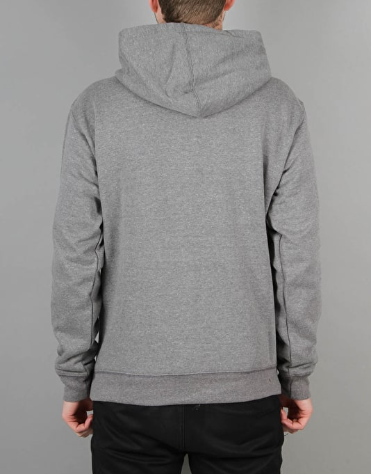 Route One Basic Pullover Hoodie - Heather Grey