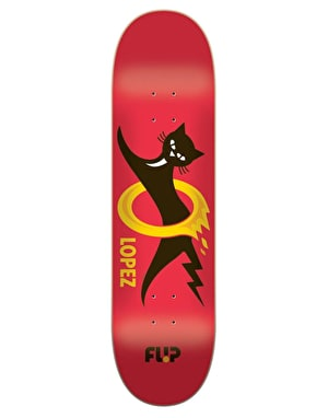 Flip Lopez Black Cat Pro Deck - 8.25