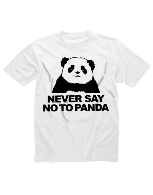 Shotdead Never Say No To Panda T-Shirt