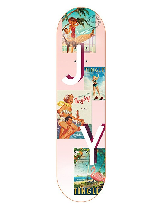 The National Skateboard Co. Young Tingley Pro Deck - 8.38""