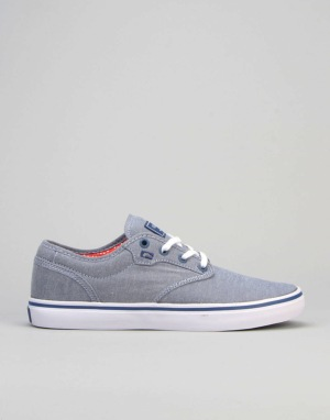 Globe Motley Skate Shoes - Navy/Chambray