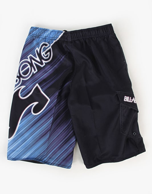 Billabong Warped Elastic Boys Boardshorts