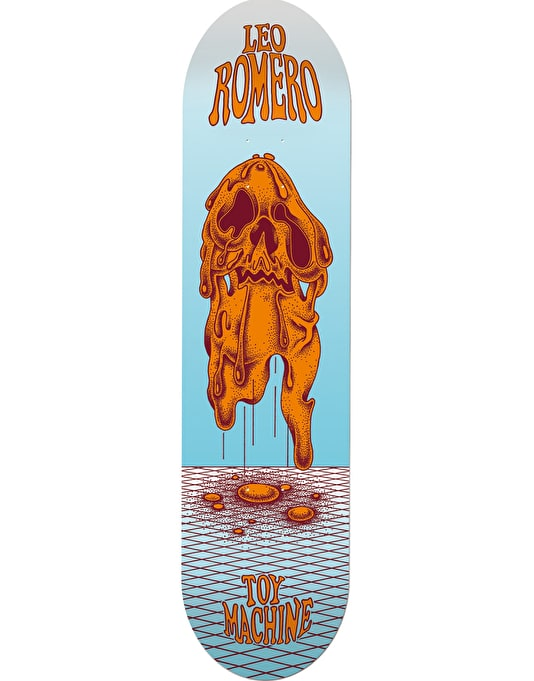 Toy Machine Romero Face Melt Pro Deck - 8""