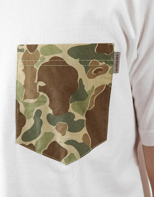 Carhartt Camoflage Pocket T-Shirt
