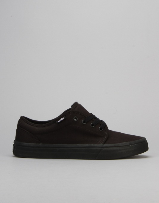 Vans 106 Vulc Skate Shoes - Black/Black