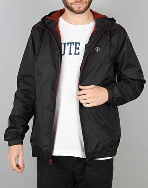 Volcom Ermont II Windbreaker Jacket - Black