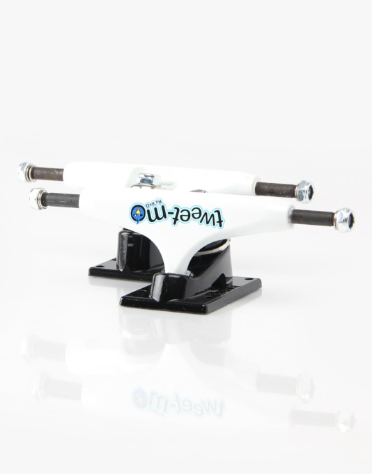 Royal Four Mike Mo Tweet Mo 5.0 Low Pro Trucks - White/Black