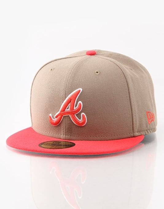 New Era MLB Atlanta Braves Baycik Fitted Cap