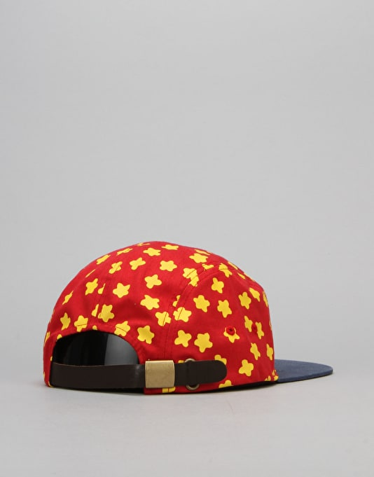 Route One Giggity 5 Panel Cap - Red/Yellow/Blue