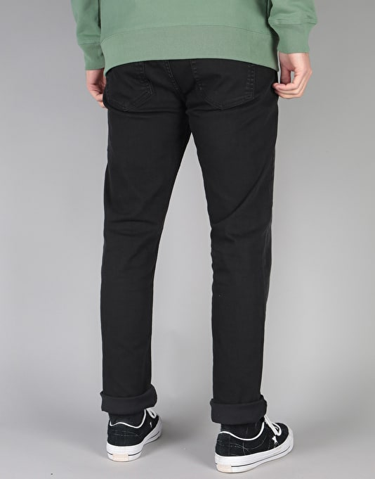 Route One Slim Denim Jeans - Black