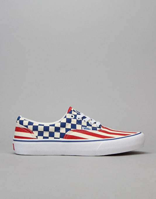 Vans Era Pro Skate Shoes - 83 Stripes/Checkers