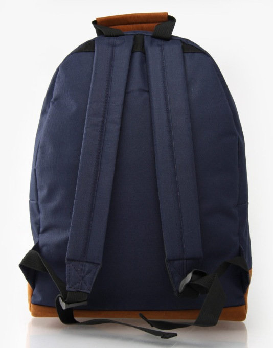 Mi-Pac Pocket Print Backpack - Navy/Paisley
