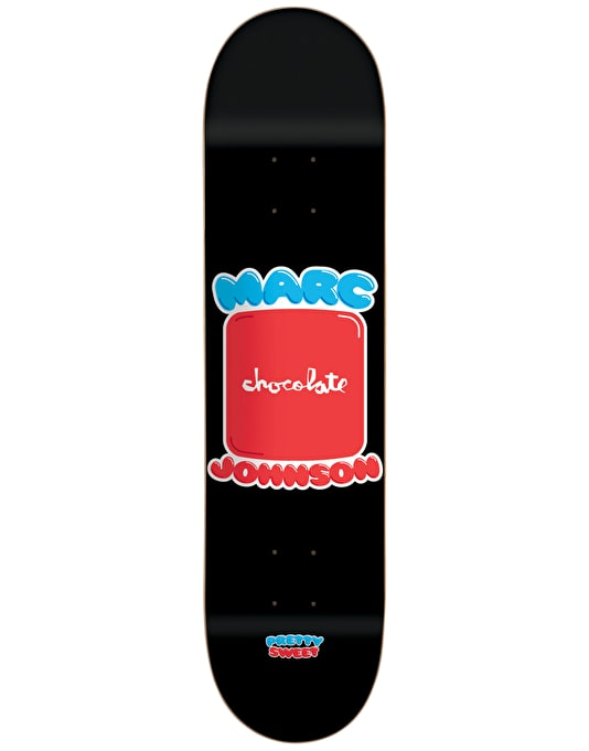 Chocolate Johnson Pretty Sweet Pro Deck - 8.5""