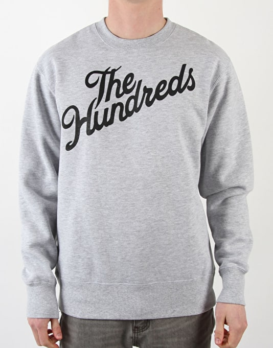 The Hundreds Forever Slant Crew - Grey