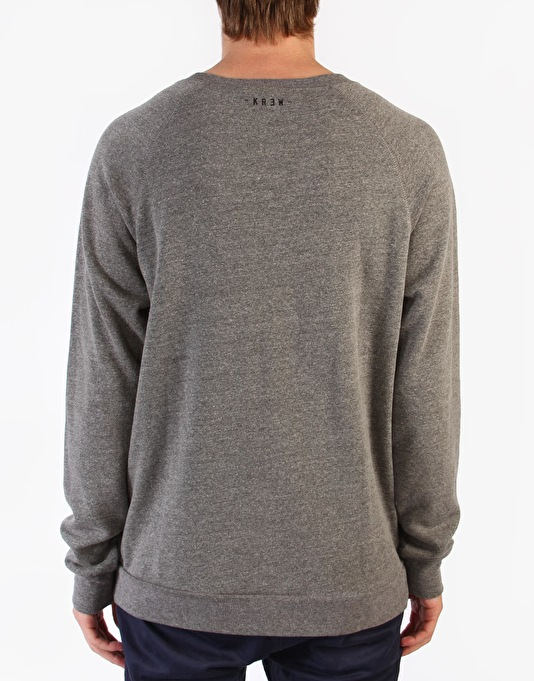Kr3w Quattro Sweatshirt - Grey Heather