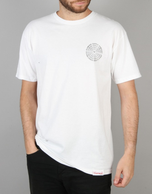 Diamond Supply Co. Vortex T-Shirt - White