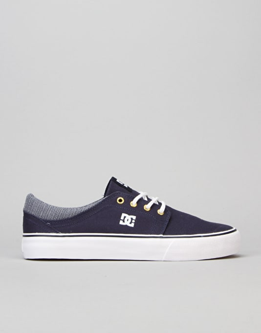 DC Trase TX SE Skate Shoes - Navy