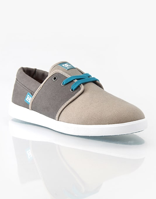 DC Haven Skate Shoes - Dark Grey/Light Grey