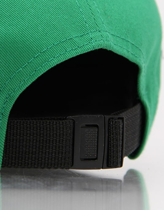Route One Basics 5 Panel Cap - Green