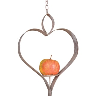 Heart Bird Feeder