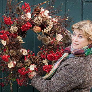 Christmas Flowers and Wreath Making with Sarah
