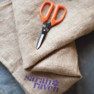 Sarah Raven Hessian Drop Cloth for Floristry